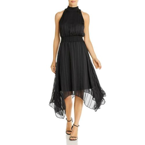 Sam Edelman Womens Halter Midi Party Cocktail Dress BHFO 3843