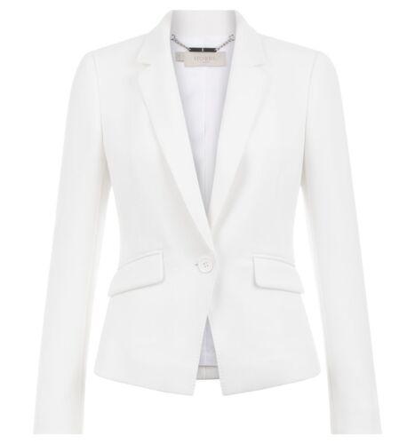 Forskellige Maya Hobbs Ivory Jacket størrelser 169 £ Rrp qaWHg8fP