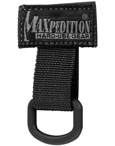 "BLACK MAXPEDITION TACTICAL T-RING MX1713B 2/"" WIDE X 3/"" TALL"
