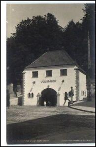 Norge-Norway-1920-BERGEN-Floibanen-Nedre-Station-AK-Vintage-Postcard