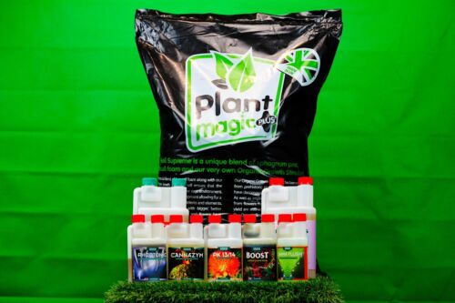 Canna Nutrient Package /& Plant Magic Plus Soil Hobby Starter Kit Hydroponics