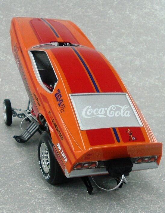 1971 Ford Mustang Funny Car la Hooker Hooker Hooker 1 18 Auto World 1106 9b8d75