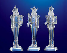 Cc Christmas Decor Pack Of 6 Icy Crystal Decorative Christmas Nutcrackers 9 For Sale Online