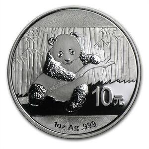 1-oncia-oz-999-Argento-Moneta-Silver-Cina-Panda-2014-10-Yuan-in-Capsula-ALTO