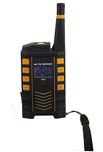 Used Kaito KA123 Digital AM FM NOAA Weather Radio with Alert /& Flashlight