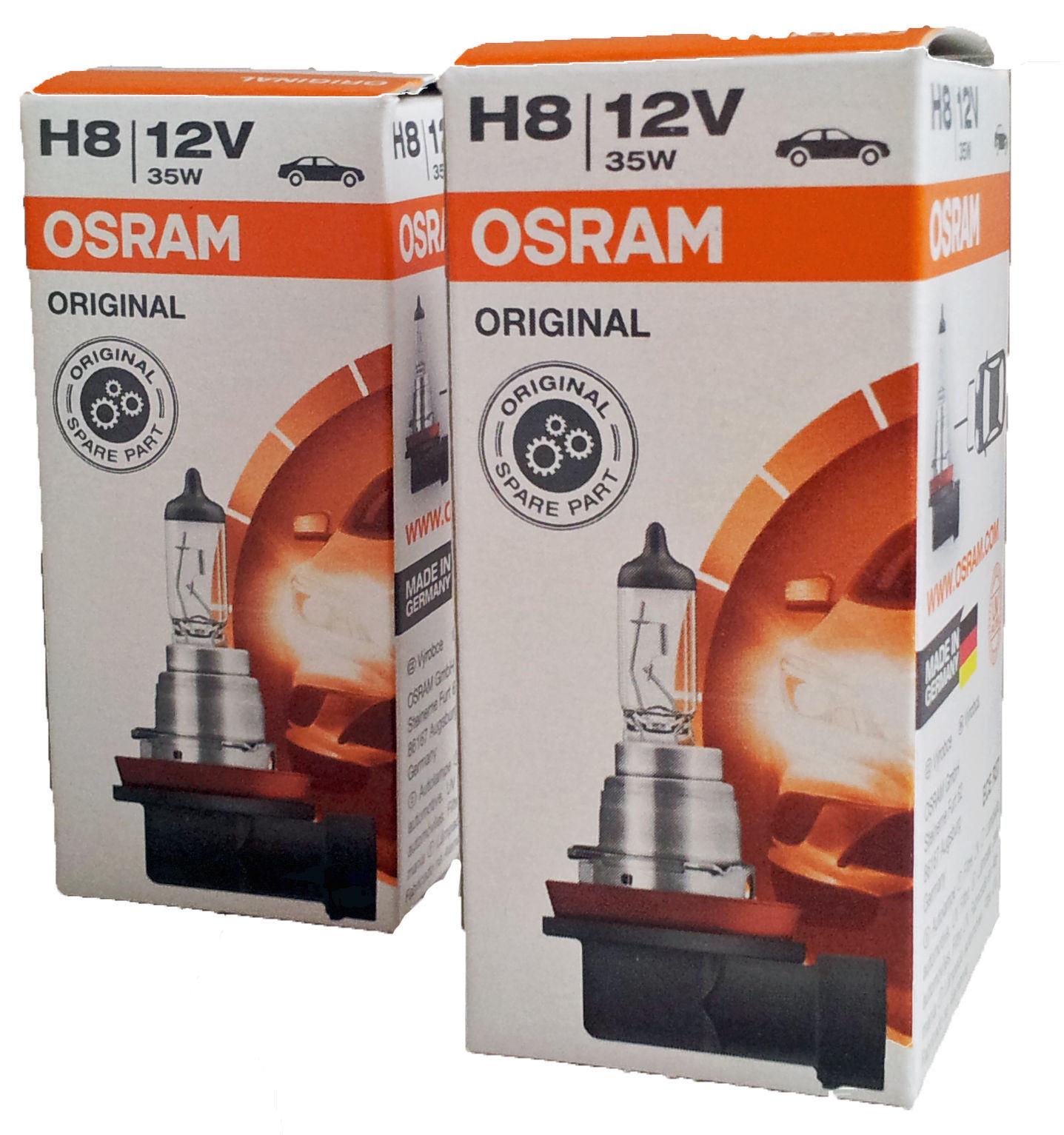 2x  Halogenlampe H8 ORIGINAL LINE 12V 35W PGJ19-1 64212 E4