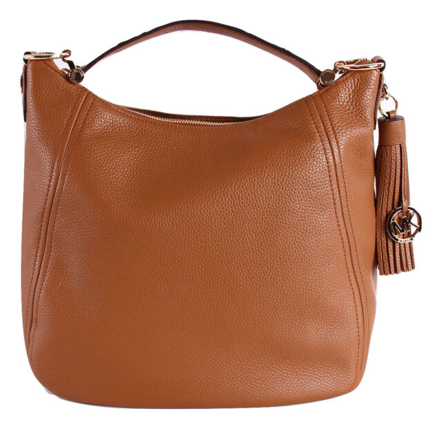 34d571af564f Michael Kors Frances Leather XL Shoulder Bag Hobo Acorn for sale ...