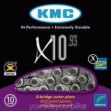KMC X10-73 KETTE 10-fach 114 G TREKKING BIKE RENNRAD FAHRRAD SHIMANO SRAM CAMPA