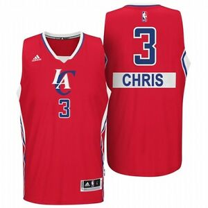 77dedd00cb8 LA Clippers Chris Paul Adidas 2014-15 Christmas Day YOUTH Swingman ...