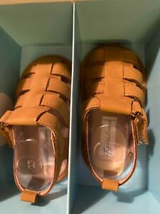 Polo-Ralph-Lauren-Infant-Boys-039-size-4-Fisherman-Sandal-NWT