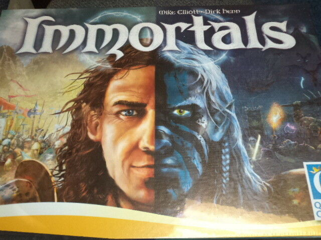 Immortals - Board Game Queen Games New