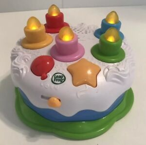 Image Is Loading Leapfrog Counting Candles Birthday Cake Interactive Learning Musical