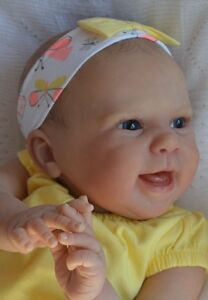 MARIAN-ROSS-Reborn-Baby-Girl-Doll-MAIZIE-Andrea-Arcello-SOLD-OUT-Limited-Edition