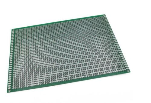 Universal board 10*15CM 2.54mm hole pitch PCB double side test experiment board