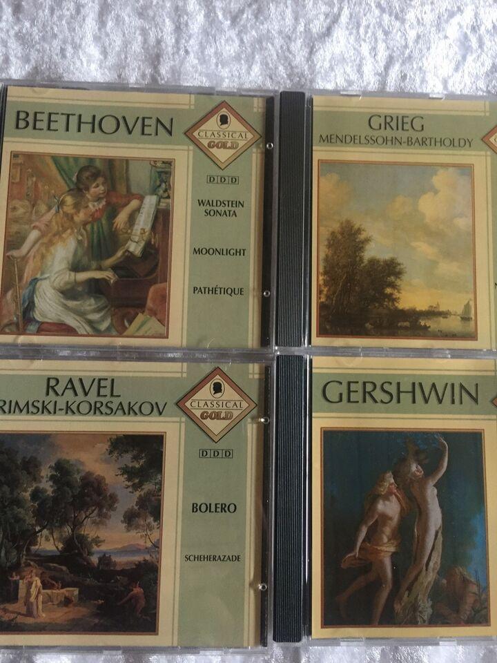 10 forskellige, se nedenfor: Super Classical greatest,