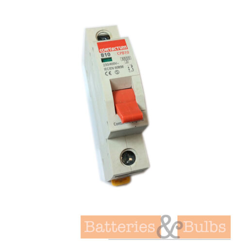 Single Pole MCB Disjoncteur contactum 10 A B10 CPB10
