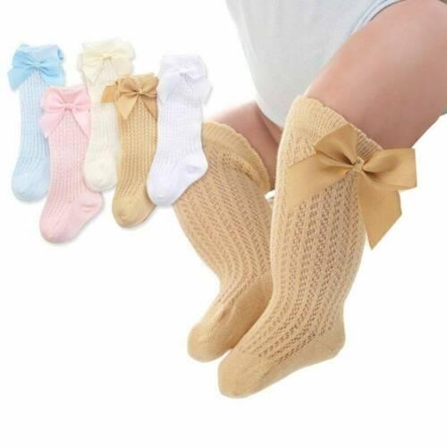 Toddler Baby Kids Girl Knee High Long Soft Warm Tights Socks Stockings Pantyhose