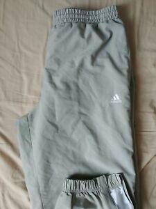 Pantalon de survêtement Adidas Gris clair Taille L