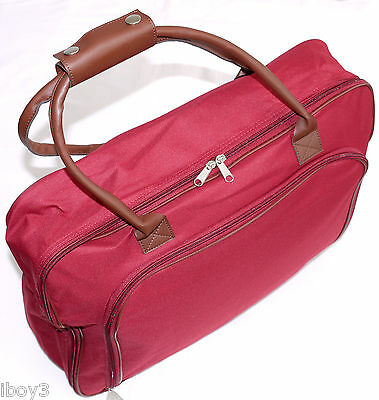COMPACT FLIGHT CABIN HAND LUGGAGE WEEKEND SUITCASE SHOPPING OVERNIGHT BAG CASE