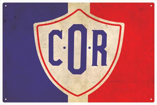 C.O.R PETROL  VINTAGE  TIN SIGN 30 x 45cm