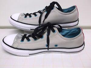 1ecc27d9ab09 Converse All Star Chuck Taylor Low Cut Canvas Sneakers.. Junior Size ...