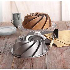 Molde para Tartas y Bizcochos Reposteria Pasteleria Capacidad 2 Litros Aluminio
