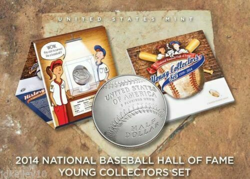 2014 NATIONAL BASEBALL HALL OF FAME YOUNG COLLECTORS SET W// COA MINT Reduced