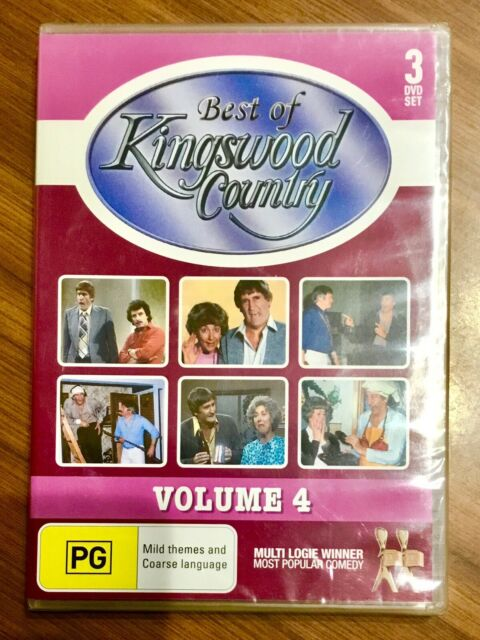 """Winter Warmer Sale : KINGSWOOD COUNTRY 3 DVD SET (Vol 4). Brand New & SEALED"""""""