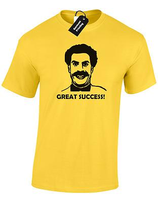 5XL BORAT GREAT SUCCESS MENS T SHIRT FUNNY KAZAKHSTAN DESIGN RETRO CLASSIC S