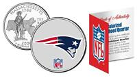 England Patriots Officially Licensed Nfl Massachusetts Us State Quarter Coin