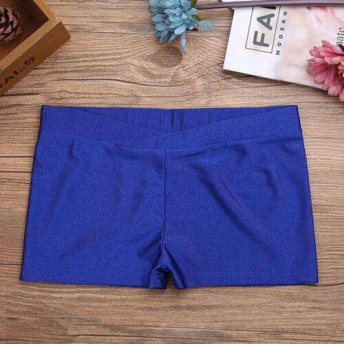 Girls Kids Cotton Spandex Gym Gymnastics Ballet Dance Shorts Underwear Bottoms