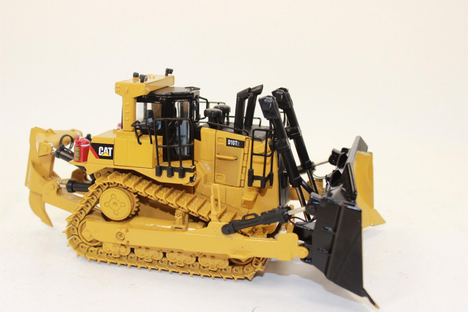 Diecast Masters 85532 CAT Caterpillar D 10 t2 RUSPA apripista 1 50 NUOVO IN SCATOLA ORIGINALE