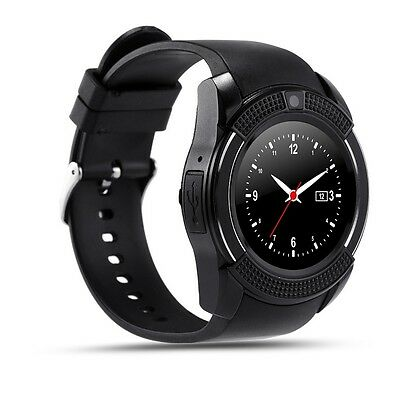 V8 Smart Watch Quad-band Calling Clock Bluetooth Phone Call Notify with camera