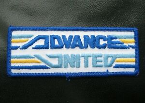 ADVANCED-UNITED-EXPRESSWAY-EMBROIDERED-SEW-ON-PATCH-TRUCK-ADVERTISING-4-034-x-1-1-2