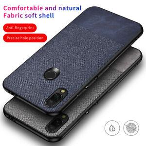 For-Xiaomi-Redmi-Note-7-Mi-A2-Lite-7-Hybrid-Jeans-Carbon-Fiber-Matte-Case-Cover
