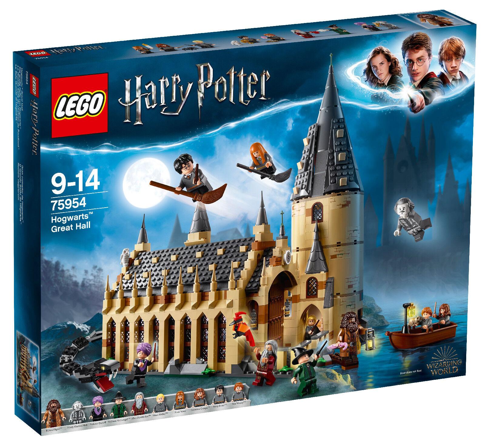 LEGO® Harry Potter™ (75954) Die große Halle von Hogwarts™ inkl Versand Neu