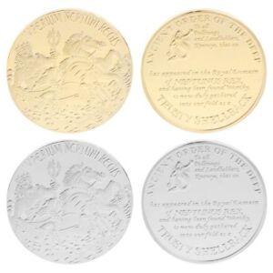 Sea-Sailor-Horse-Commemorative-Coin-Collection-Gift-Crafts-Souvenir-Silver-Gold