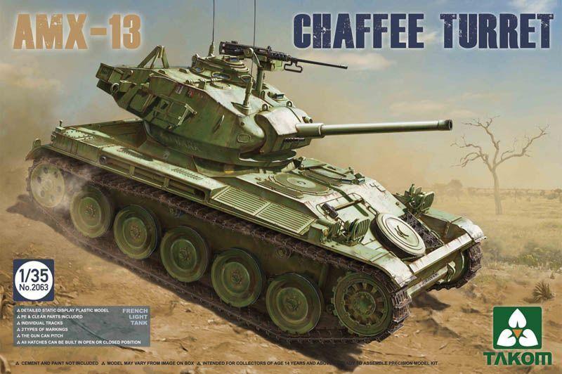 Takom 1 35 AMX-13 Light Tank Chaffee Turret in Algerian War 1954 -1962