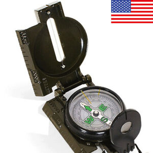 Compass Lensatic Versatile Military Camping Hiking Survival Compass Sporting