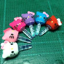 Resin Hello Kitty Anti Dust Stopper Ear Cap Earphone Dock Plug iPhone iPod iPad