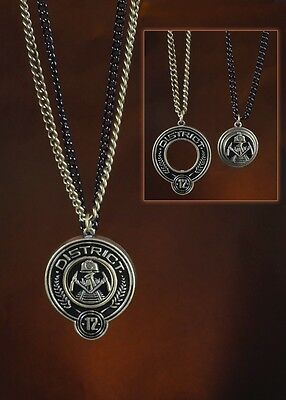 NEW Hunger Games: Catching Fire - District 12 Friendship Necklaces - NECA