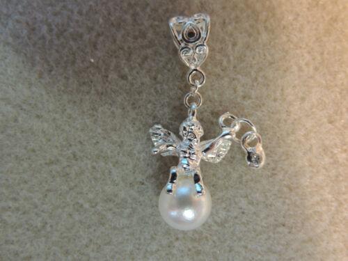 Anhänger CHARMS ENGEL FLÜGEL SCHUTZENGEL WING f Kette Beads Charm Elfenruferer