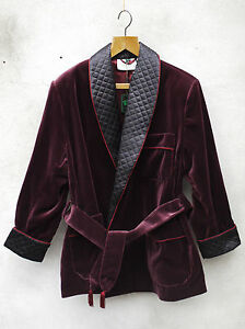 Unexpected Jacket Velvet Burgundy Cotton By Tails And With Silk The Smoking – Black ORH5qHYwx