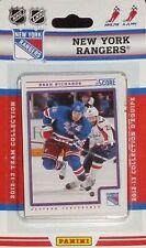 New York Rangers 2012 13 2013 Score Hockey Factory Team Set Lundqvist Richards