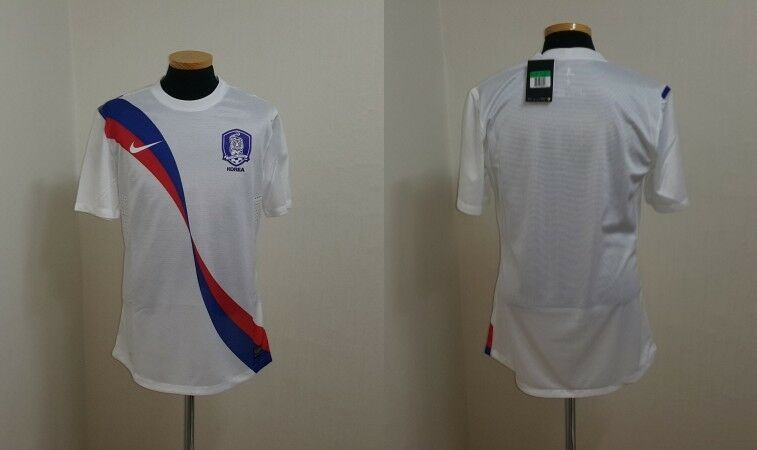 (XL) Corea Fútbol Jersey Camisa Manga Larga reproductor problema BNWT match preparado