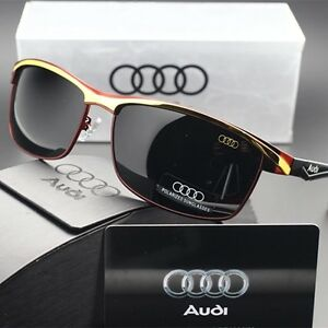 AUDI 2017 Man Polarized Sunglasses Classic Men's Lens Glasses WITH BRAND BOX!!!
