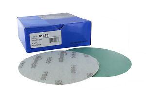 """6"""" Film Sanding Discs 0-Holes Hook /& Loop 50-Pcs Ideal for Car Repair Grit P800"""