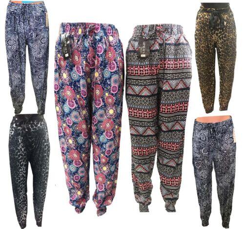 Girls Womens Ali Baba Harem Trousers Pants Leggings Ladies Baggy Hippie S,M,L,XL