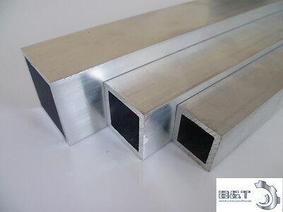 Aluminium Vierkantrohr (6060) 20x20x2 mm - Länge frei wählbar