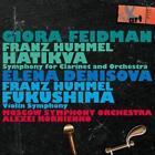 Sinfonie für Klarinette und Orchester/Fukushima von Feidman,Moscow so,Denisova,Kornienko (2012)